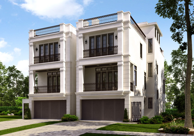 Rendering - Regency at St. George - 5409 and 5411 Fairdale - PRELIMINARY