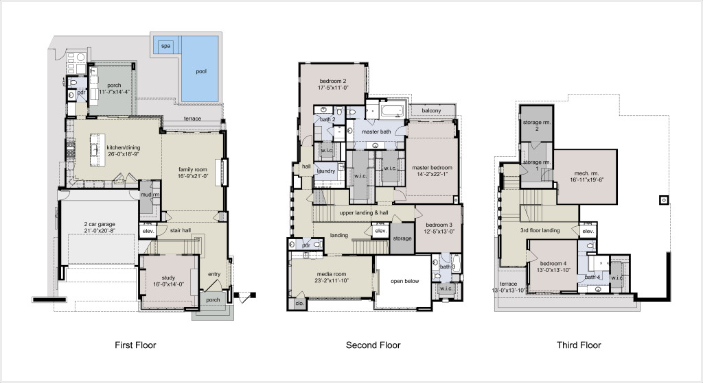 Floor Plan - Hi Res - 5501 Navarro - 2.11.15