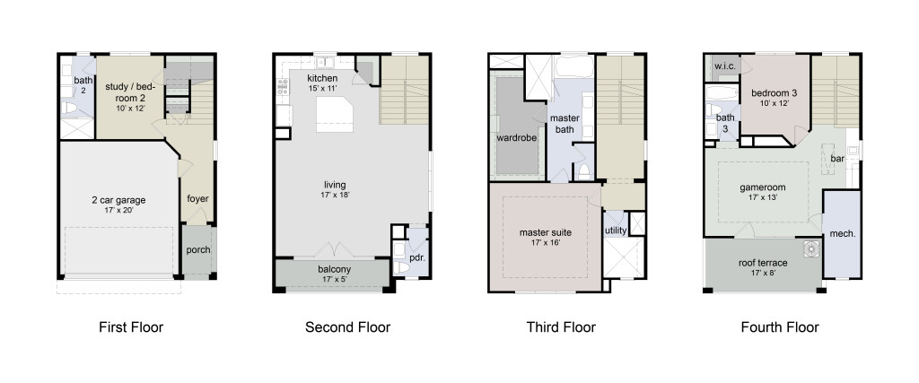 Winsome Floor plans 1st